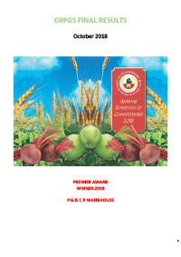 GRFGS Final Results cover